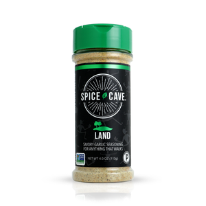 Land - Savory Garlic Seasoning - 3.8oz Spice Cave - Paleo By Maileo