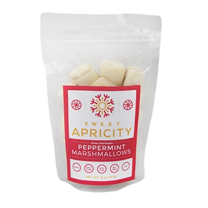 Peppermint Marshmallows - 2oz Sweet Apricity - Paleo By Maileo