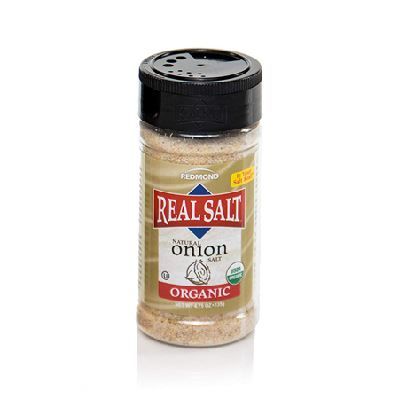 Real Salt Onion Salt (Organic) - 4.75oz Redmond Real Salt - Paleo By Maileo