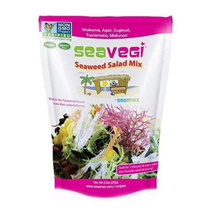 SeaVegi Seaweed Salad Mix - .9oz SeaSnax - Paleo By Maileo