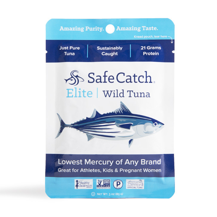 Elite Wild Tuna Pouch - 2.6oz Safe Catch - Paleo By Maileo