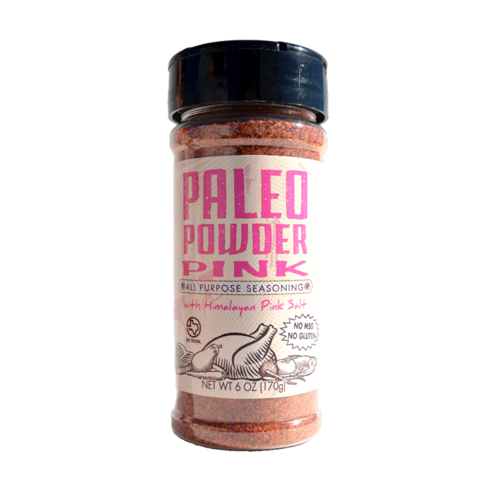 Pink Paleo Powder Seasoning - 6oz Paleo Powder - Paleo By Maileo