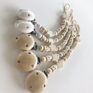 Swan lake soother chain - lunastreasures
