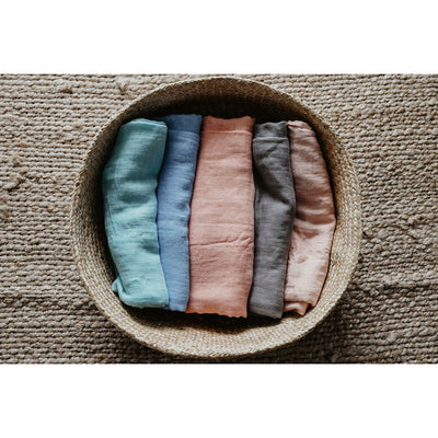 Solid colour bamboo swaddles - 6 colours - lunastreasures