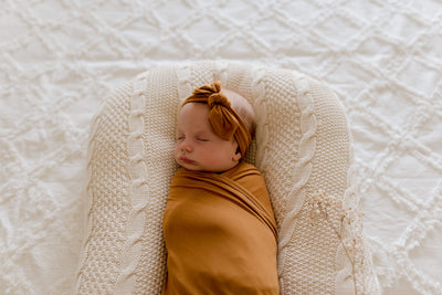 Buy Bamboo Cotton Baby Swaddle Wrap | Desert Bronze | Lunastreasuers