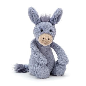 Jellycat bashful donkey medium size - lunastreasures