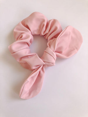 BILLIE bunny scrunchie solid pink UPF 50+