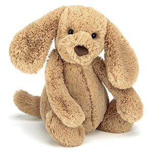 Jellycat bashful toffee puppy - medium size - lunastreasures