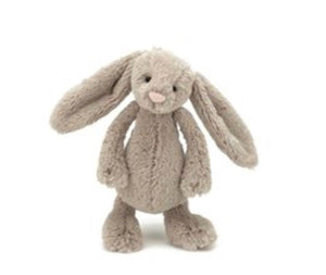 Jellycat bashful little bunny small size - beige - lunastreasures