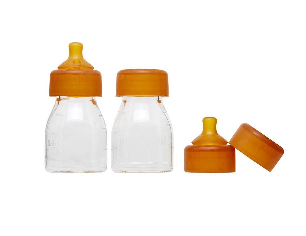Mini Quoddle bottle newborn twin pack - lunastreasures