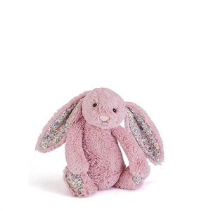 Jellycat Blossom bashful little bunny small size - tulip pink - lunastreasures