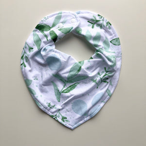 Evergreen dribble bib - lunastreasures