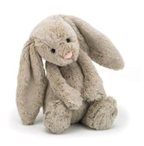 Jellycat bashful little bunny medium size - beige - lunastreasures