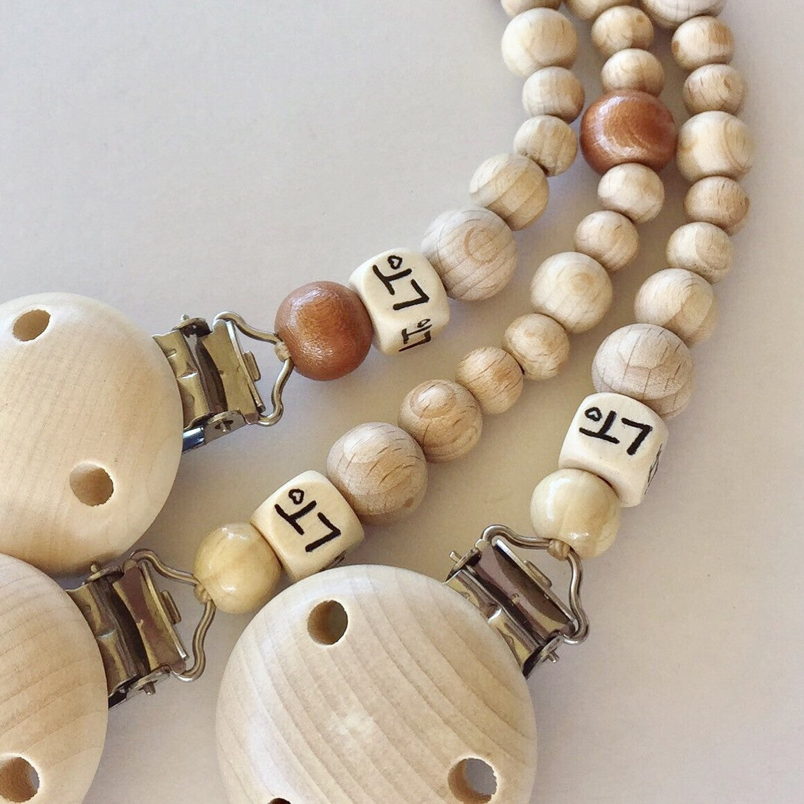 Ready to ship - Naturél raw soother chains