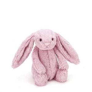 Jellycat bashful little bunny medium size - tulip pink - lunastreasures
