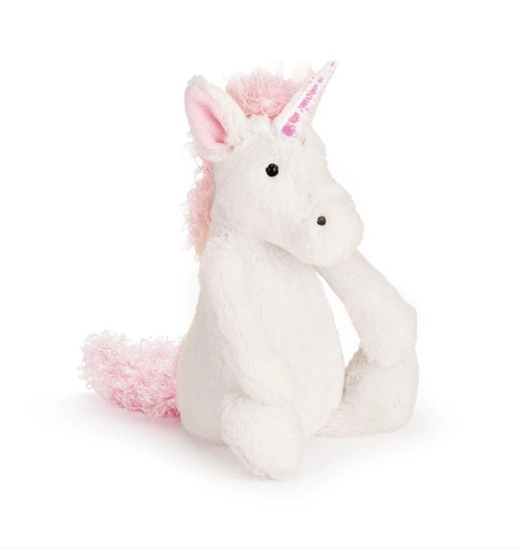 Jellycat bashful unicorn small size - lunastreasures