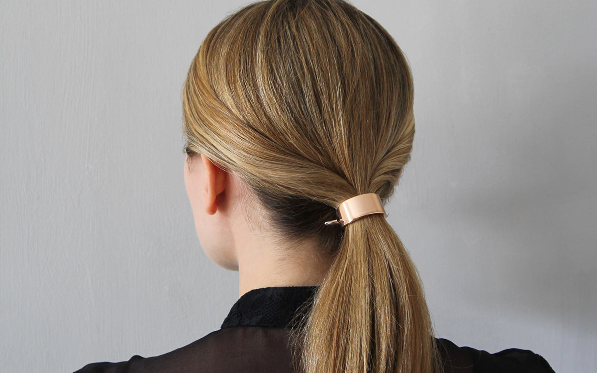 The Polished Low Ponytail for Medium / Long Hair