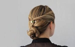 Easy Long-Hair Updo for Bad Hair Days