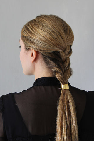 Ridiculously Easy Polished French Braid Hairstyle for Long Hair