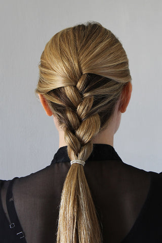 Step 2 - Ridiculously Easy Polished French Braid Hairstyle