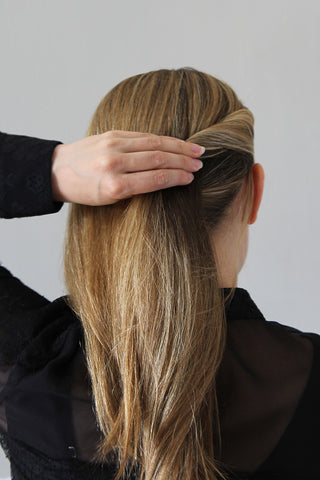 Step 3 - The Polished Low Ponytail for Medium/Long Hair
