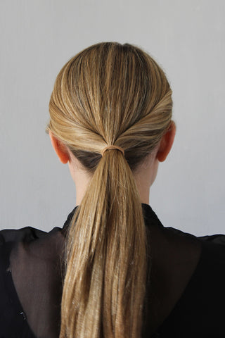 Step 5 - The Polished Low Ponytail for Medium/Long Hair