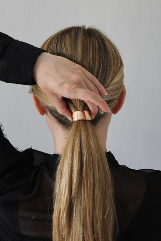 Step 6 - The Polished Low Ponytail for Medium/Long Hair