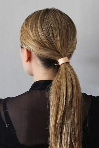 The Polished Low Ponytail for Medium/Long Hair