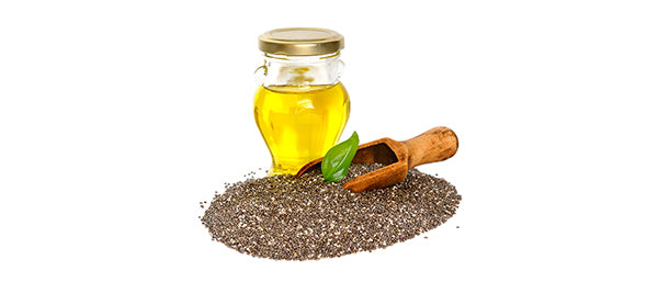 Chia oil with seed