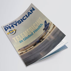San Diego Physician Magazine Cover
