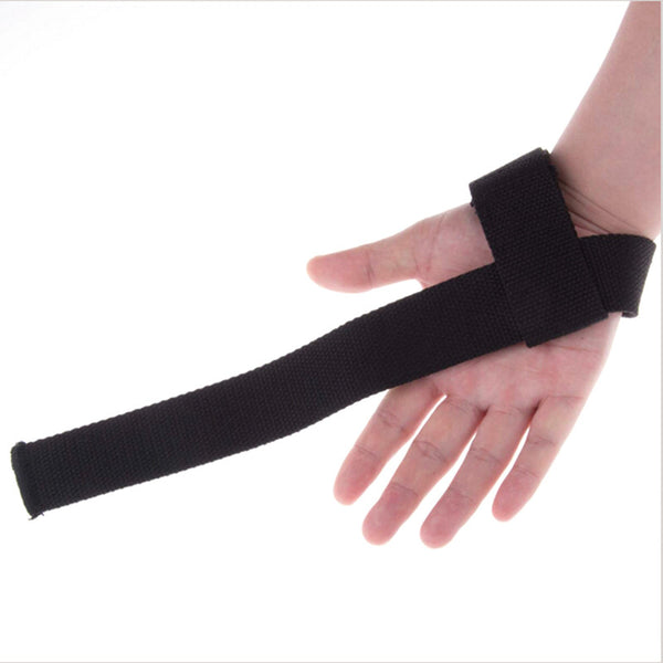 Weightlifting 'No Slip' Grip Strap (pair) - Wrist support straps for weightlifting and training