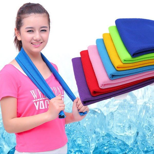 New Microfiber Eco Friendly Cooling Towel