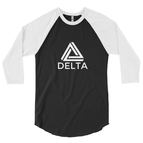 Shirts - Delta Strength - 3/4 Sleeve Raglan Shirt