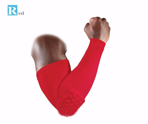 Power Shooter Arm Sleeve - Breathable protection and support for basketball, football and other high impact activities
