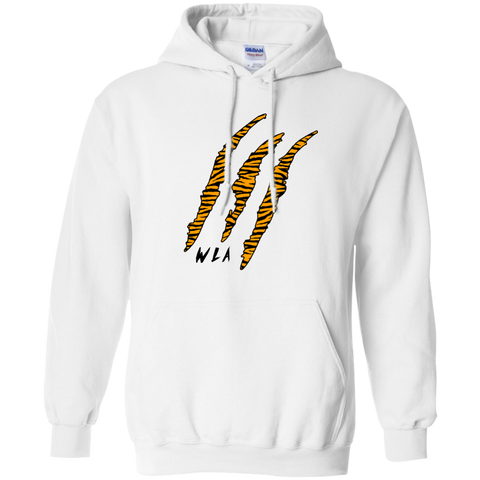 Black Tiger Claw Hoodie - Wildlife Apparel