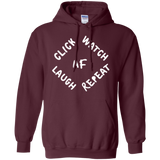 Click Watch Laugh Repeat Hoodie - Wildlife Apparel