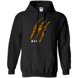 White Tiger Claw Hoodie - Wildlife Apparel