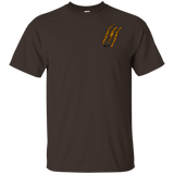 Black Tiger Claw T-Shirt - Wildlife Apparel