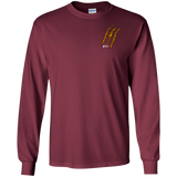 White Tiger Claw LS Tshirt - Wildlife Apparel