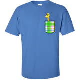 Pocket Giraffe T-Shirt - Wildlife Apparel
