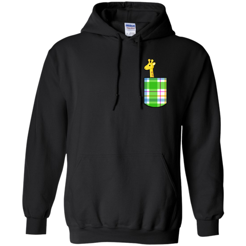 Pocket Giraffe Hoodie - Wildlife Apparel