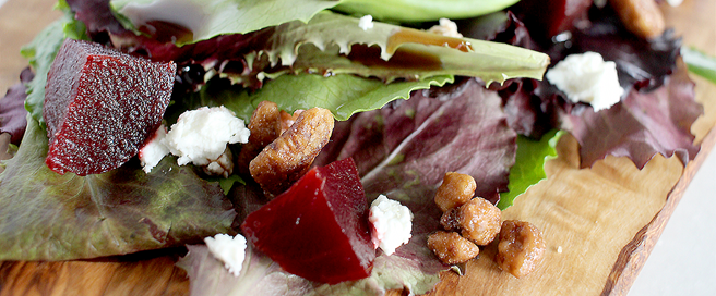 HEALTHY BEET ROOT SALAD