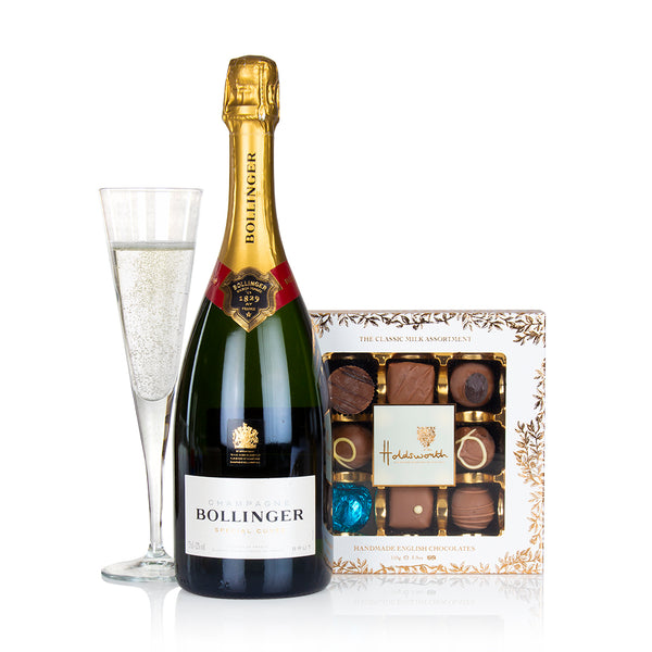 Bollinger Champagne and Chocolate Truffles