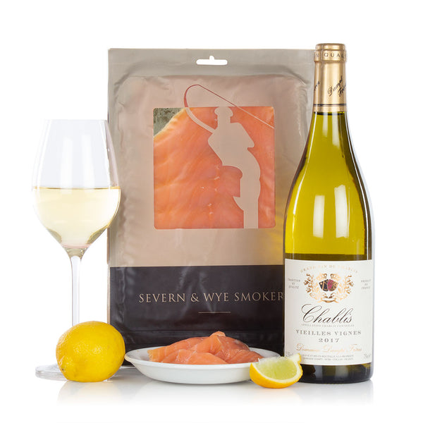 Smoked Salmon and Chablis  (UK DELIVERY ONLY)