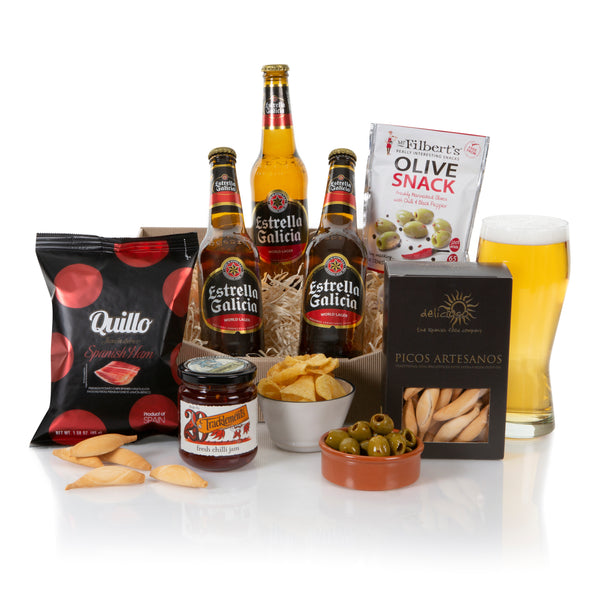 Spanish Craft Beer and Snacks Gift