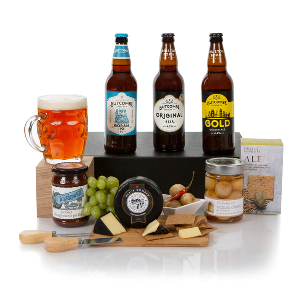 Beer, Cheese & Snacks Gift