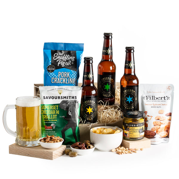 Craft Beer & Snacks Gift
