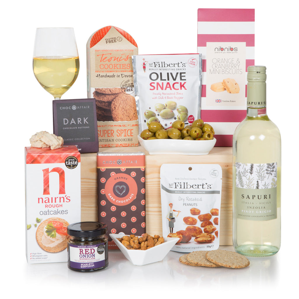 Vegan Treats with Pinot Grigio
