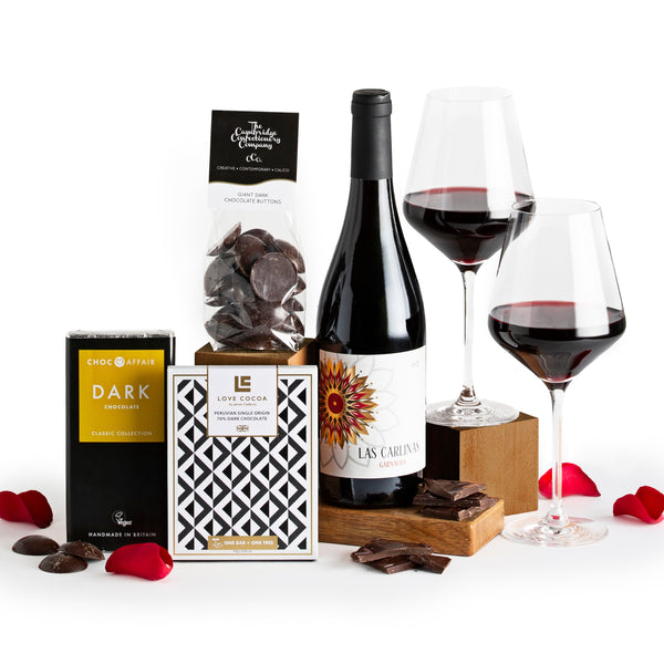 Red Wine & Dark Chocolate Gift Box