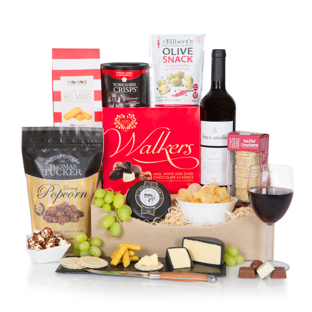 The Gourmet Cheese & Wine Selection
